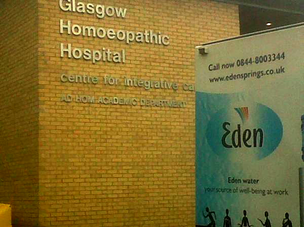 Drug Delivery at the Glasgow Homeopathic Hospital